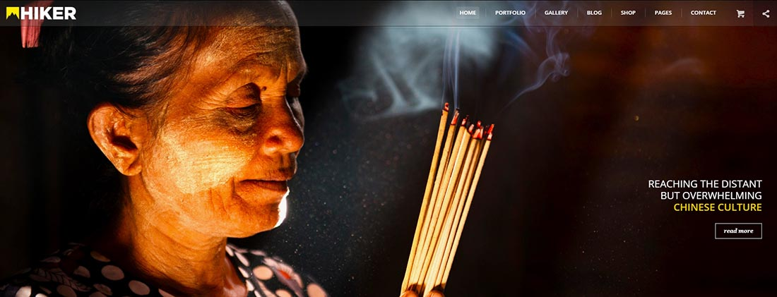 EXPLORA WordPress Photography Themes