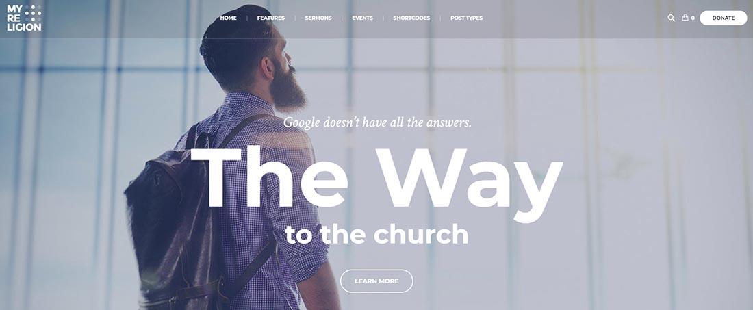My Religion WordPress Theme Church WordPress Theme