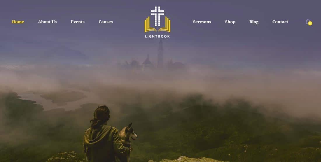 Church Events WordPress Theme