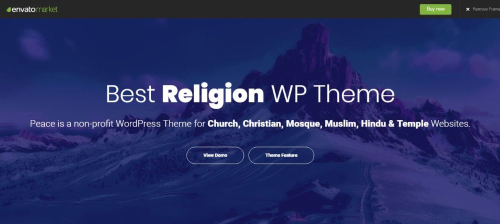 peace church theme
