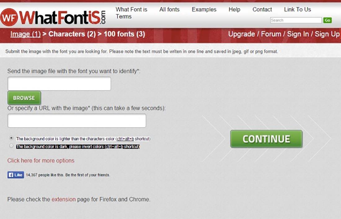 1 WhatFontIs Font Detector Tools