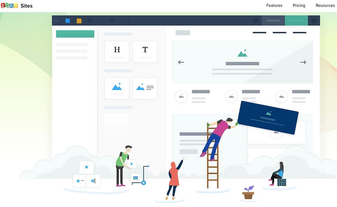15 Zoho sites Website Builder