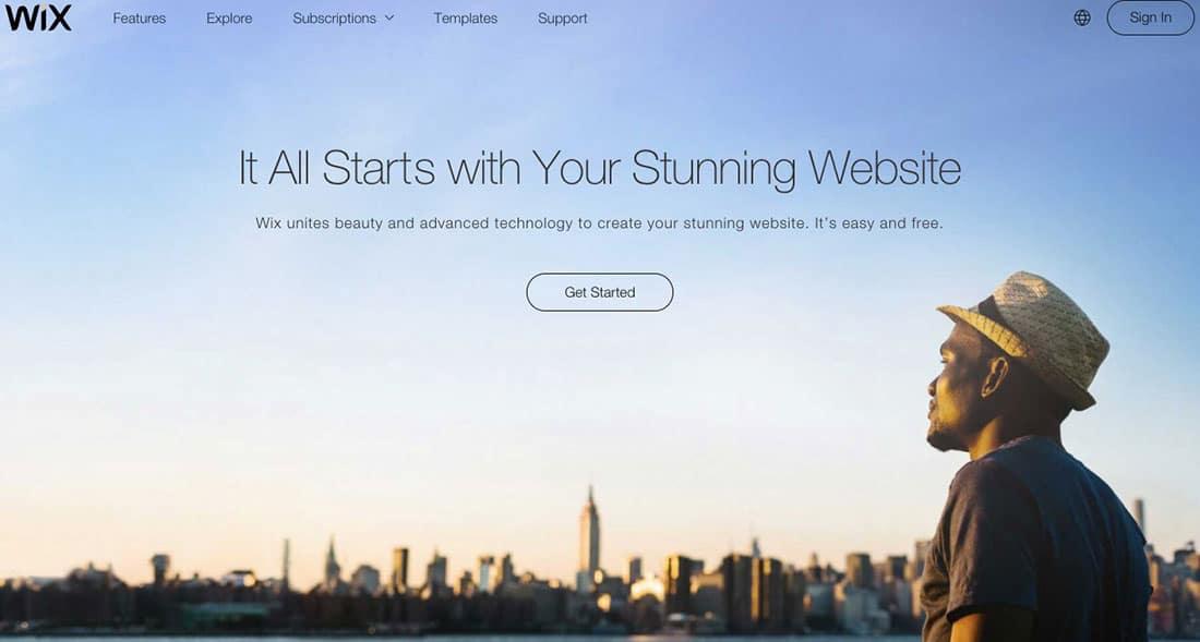 4 Wix Free Website Builders