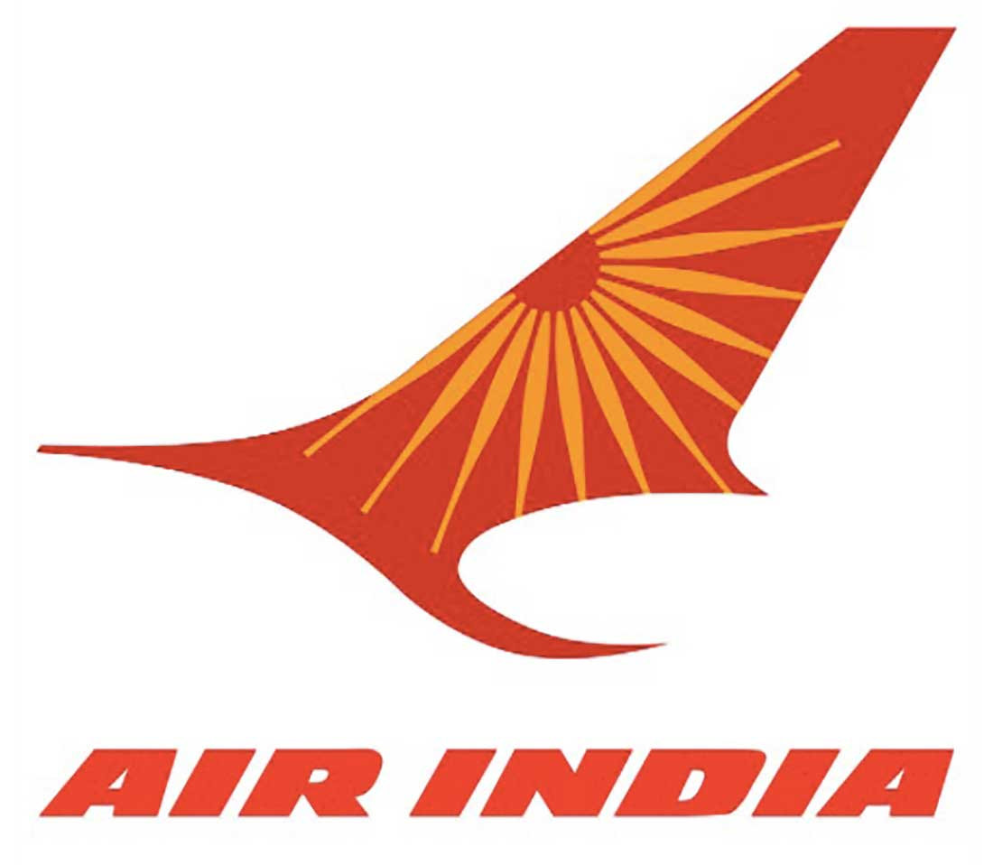 9 Air India Airline Logo