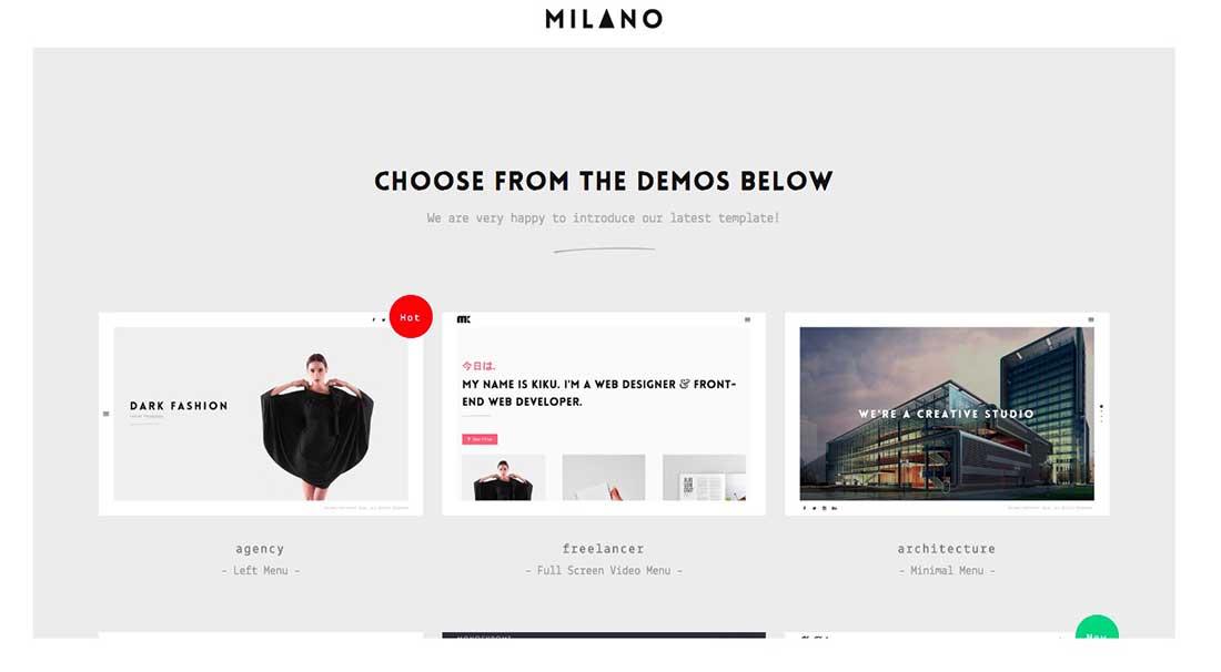 13 Milano Ubercart Template