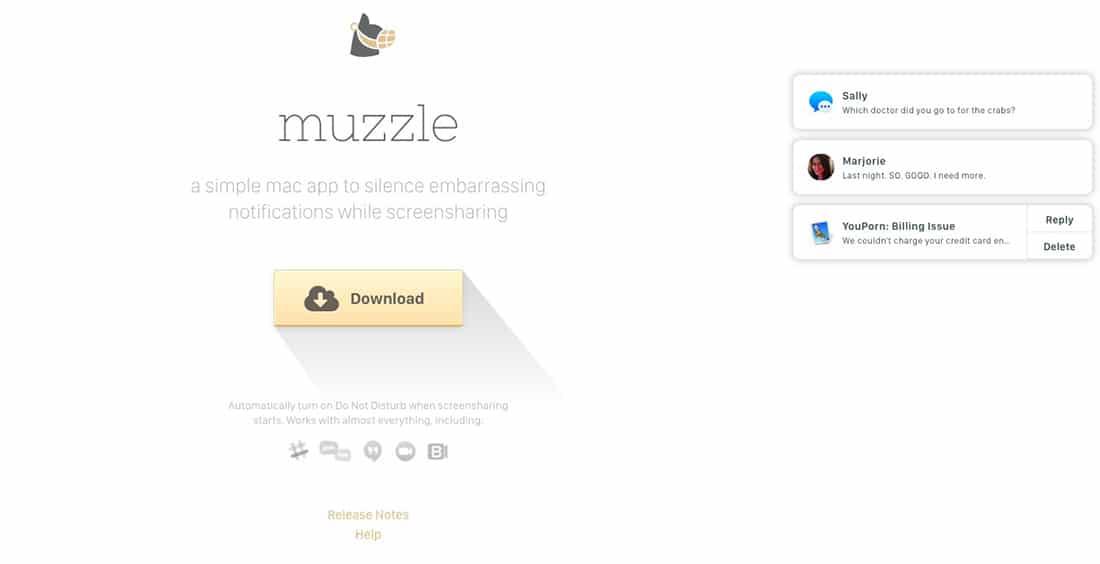 17 Muzzle Landing Page