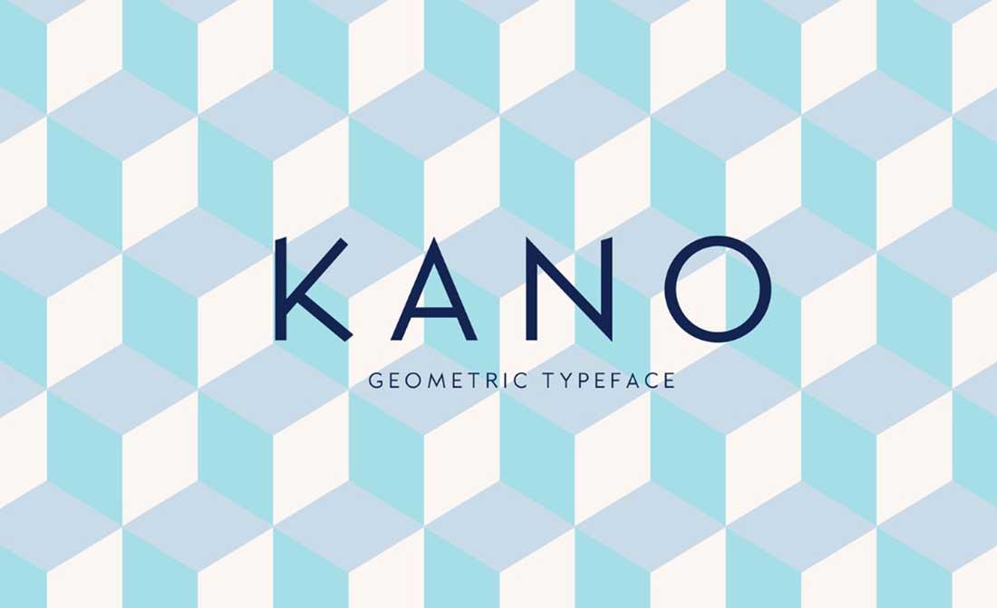 21 Kano Contemporary Font