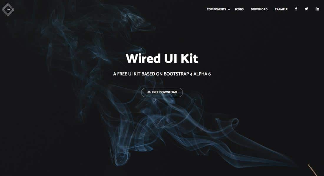 23 Wired UI Kit Boostrap Theme