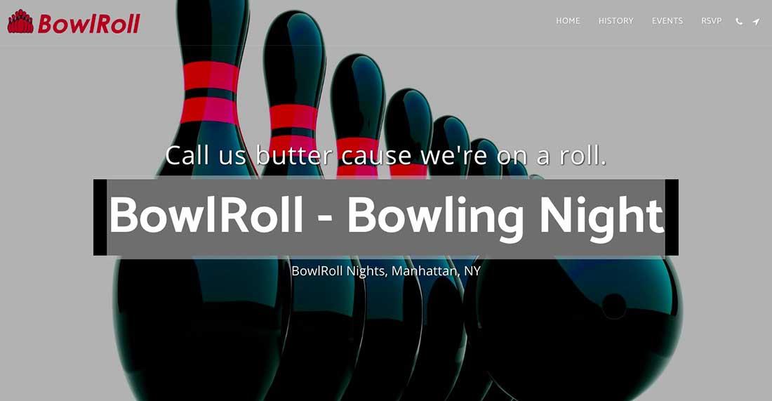 1 BowlRoll - Bowling Night