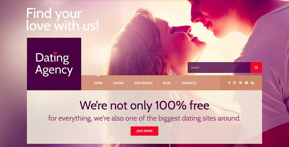 11 Dating Responsive WordPress Theme