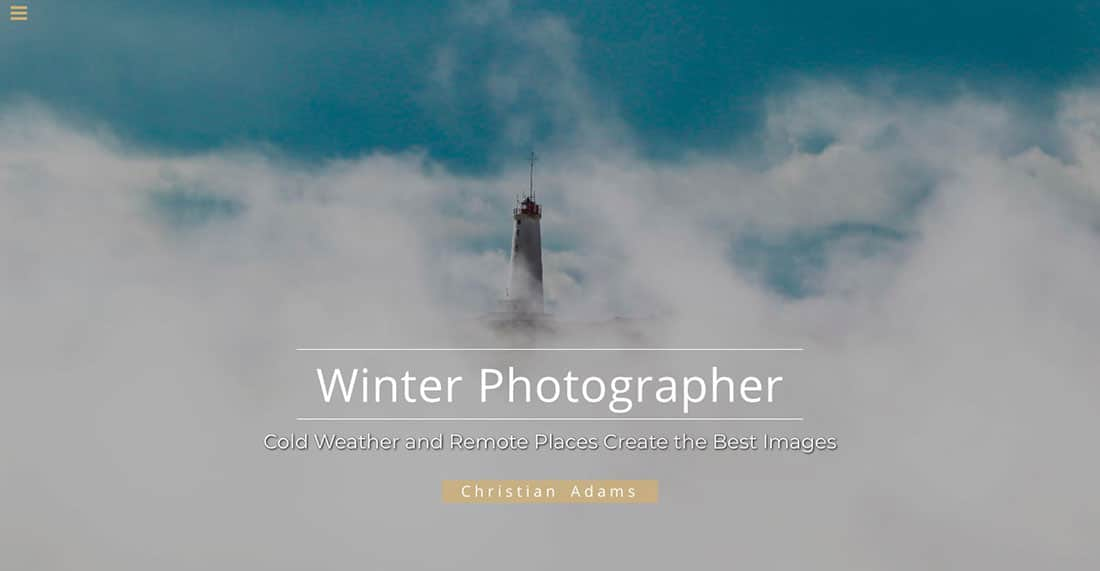 11 Winter Photographer