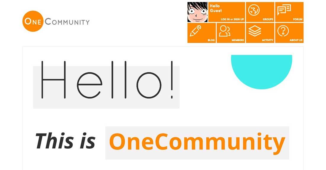 19 OneCommunity Dating WordPress Theme