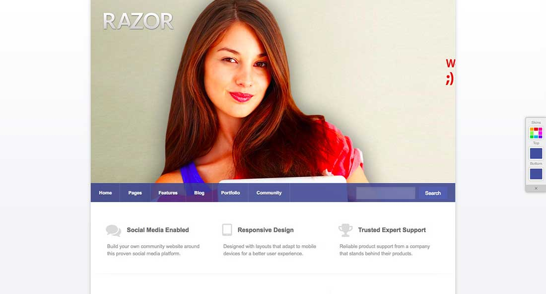20 RazorDating WordPress Theme