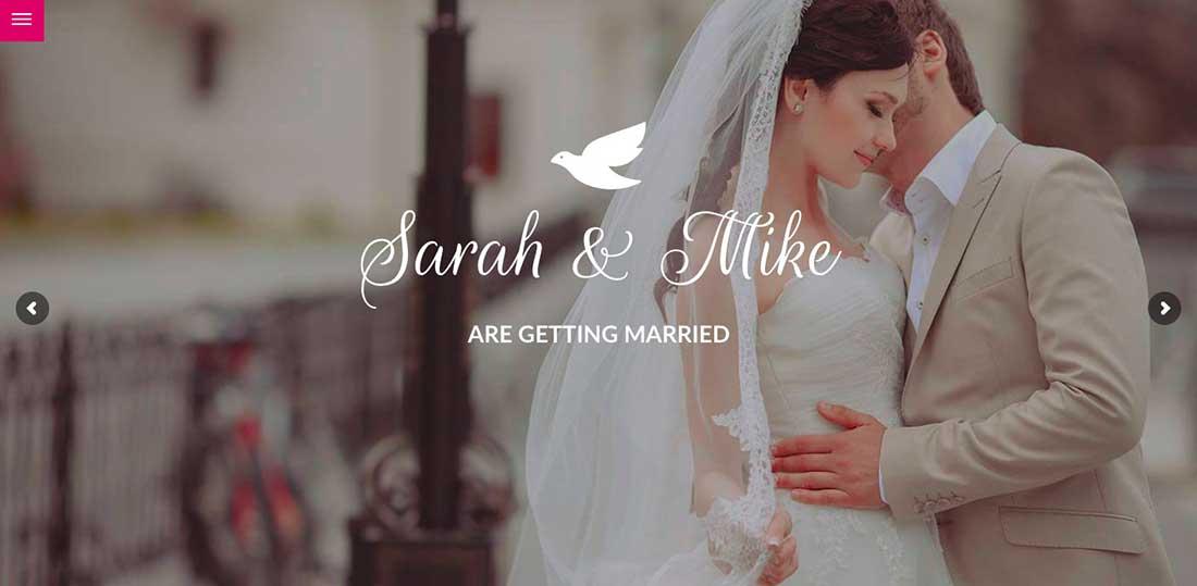 6 Big Date - Wedding WordPress Theme