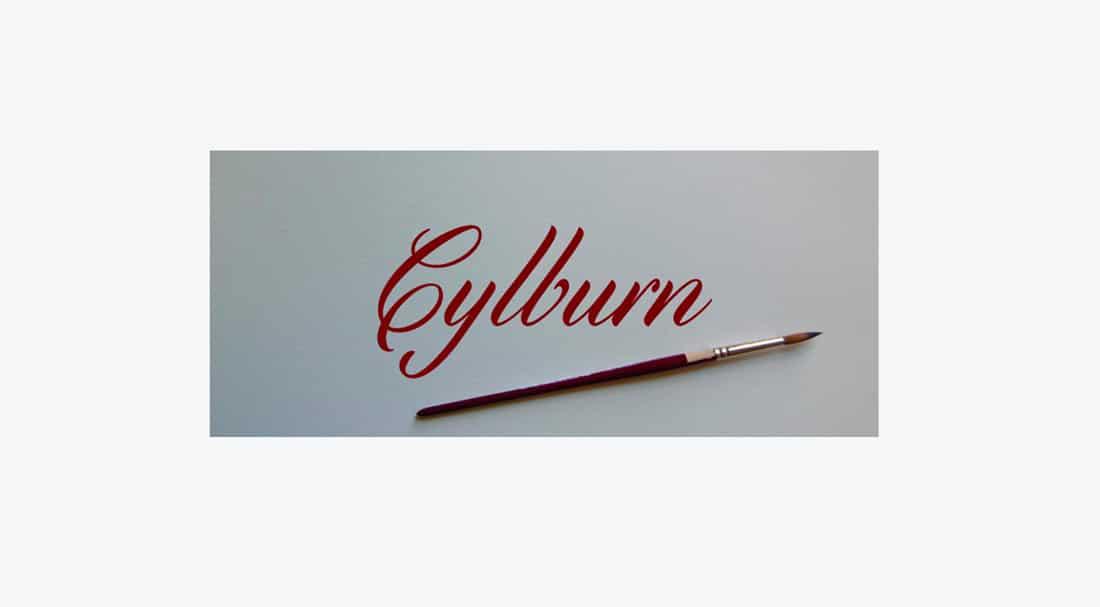 25 Cylburn Free Elegant Font