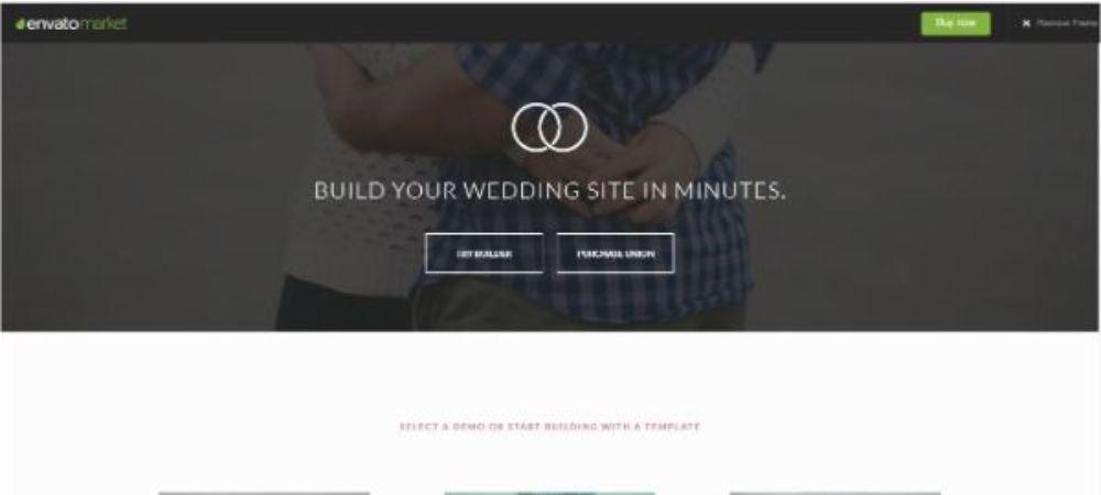 Union Wedding Theme Template