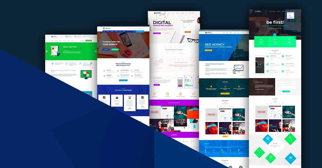 15 Atiframe - SEO and Web Design Company WordPress Theme