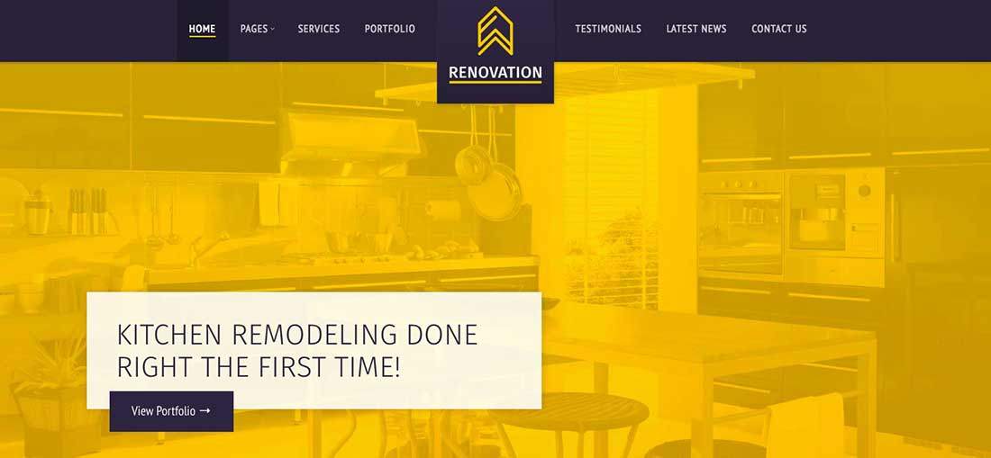 15 Renovation -ConstructionCompany Theme