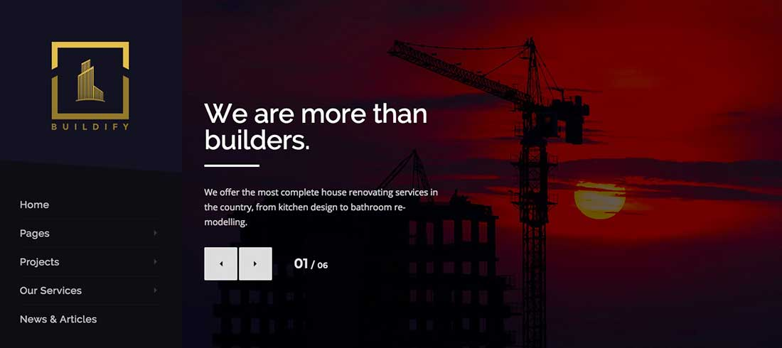 18 Buildify | Construction Building WordPress Theme