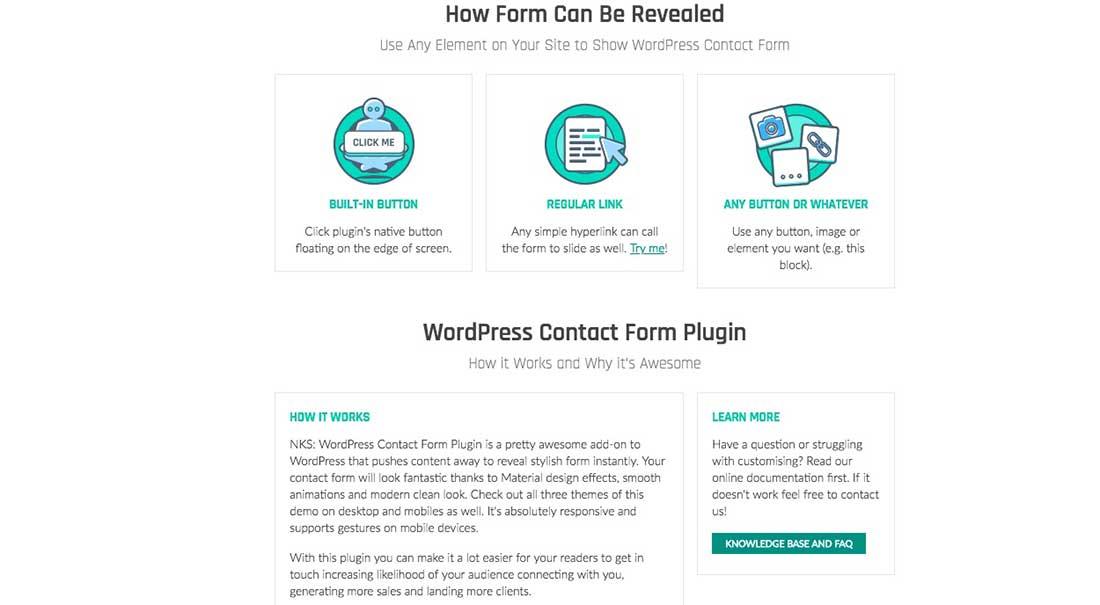 18 Ninja Kick- WordPress Contact Form Plugin
