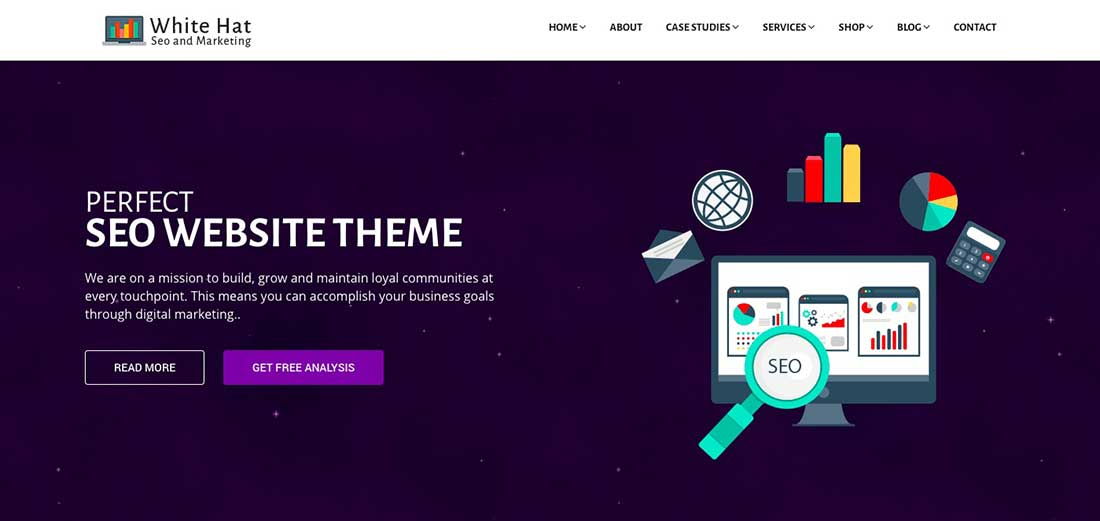 25 WhiteHat - SEO and Digital Marketing Theme