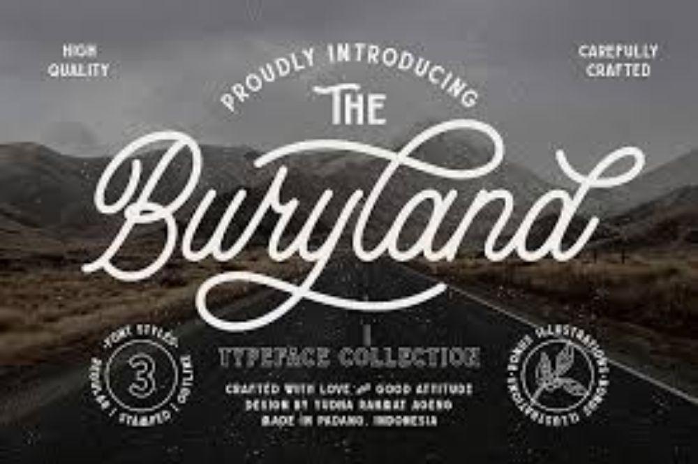 Buryland-Cursive-Free Flow-Adventure