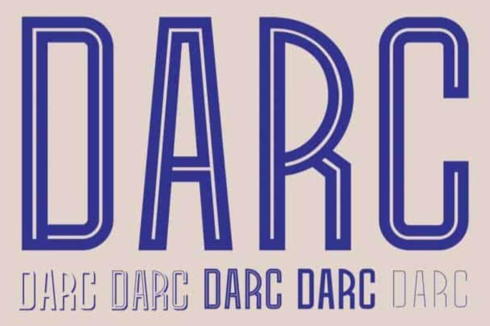 Darc-Typography-Blue