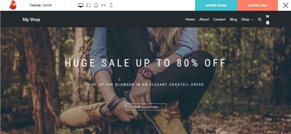 12 FREE eCommerce WordPress Themes- Neve