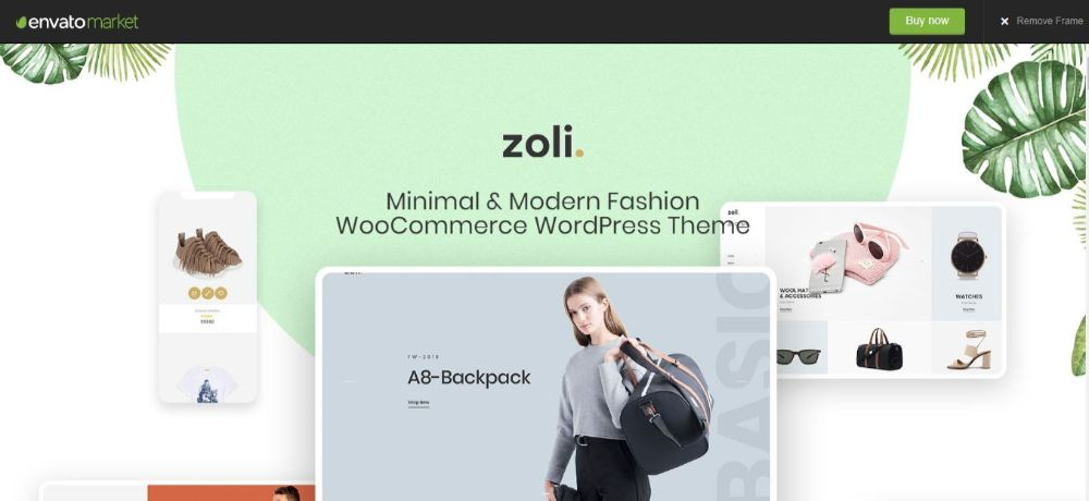 18 Best Minimalist WordPress Themes- Zoli