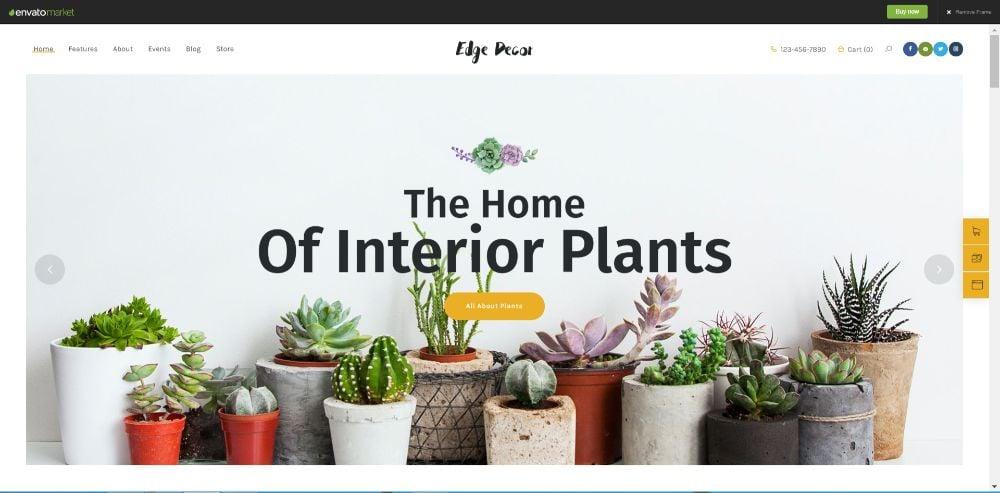 Edge Decor   A Modern Gardening & Landscaping WordPress Theme