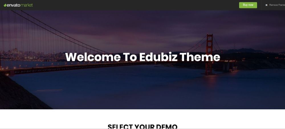 Edubiz - Powerful Education, Courses Drupal 8.7 Theme: