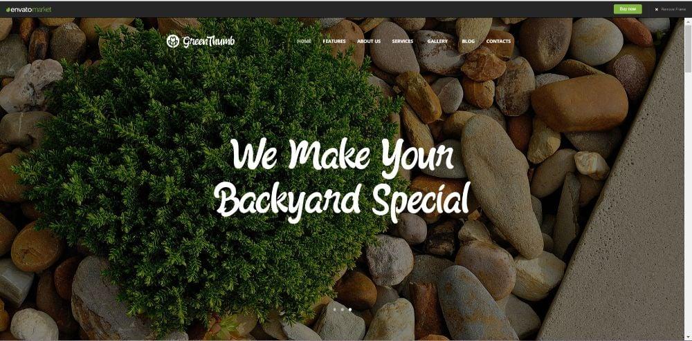 Green Thumb   Gardening & Landscaping Services WordPress Theme